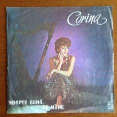 Corina Chiriac - Noapte buna, pe maine - vinil - Muzica soundtrack electrecord