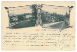 3458 - BRASOV, NOA, Litho - old postcard - used - 1902