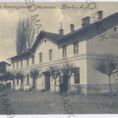 3497 - Bihor, VALEA lui MIHAI, Railway Station - old postcard - used - 1915, Circulata, Printata