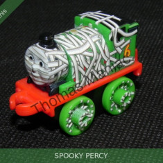 Fisher Price - Thomas and Friends Minis - trenulet jucarie SPOOKY PERCY, Metal, Unisex