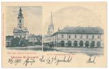3452 - Litho, Maramures, SIGHET - old postcard - used - 1901, Circulata, Printata