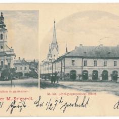 3452 - Litho, Maramures, SIGHET - old postcard - used - 1901 - Carte Postala Maramures pana la 1904, Circulata, Printata