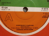 "AVERAGE WHITE BAND - EVERYBODY'S..(1976/ATLANTIC/UK) - VINIL/""7 Single/Impecabil, warner"