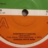 AVERAGE WHITE BAND - EVERYBODY'S..(1976/ATLANTIC/UK) - VINIL/7 Single/Impecabil