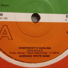 AVERAGE WHITE BAND - EVERYBODY'S..(1976/ATLANTIC/UK) - VINIL/
