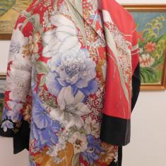 PAOLO GUCCI - ESARFA DESIGNER, SUPRBA, MATASE NATURALA - Batic Dama Gucci, Culoare: Din imagine