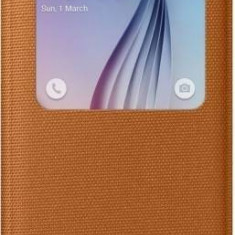 Husa Samsung S6 EF-CG920BOEGWW Portocalie / Orange