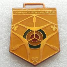 TIR-MEDALIA FEDERATIEI ROMANE DE TIR-CUPA ROMANIEI-DUPA 1990 - Medalii Romania