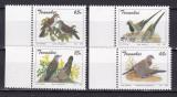 Transkei  1993  fauna  pasari  MI 311-314    MNH  w38, Nestampilat