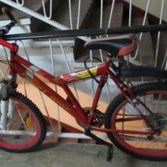 Vand bicicleta first bike cadru otel - Mountain Bike First Bike, 20 inch, 22 inch, Numar viteze: 18