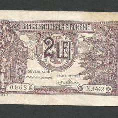 ROMANIA 2 LEI 1938 [2] VF - Bancnota romaneasca