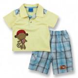 Compleu - pantaloni si tricou - Little monkey - Haine bebelusi