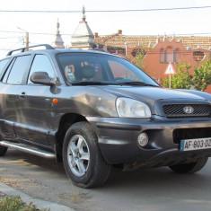 Hyundai Santa Fe 4x4, 2.0 CRDI 16V, an 2004, Motorina/Diesel, 214000 km, 1991 cmc