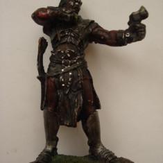 Statueta din plumb - luptator - Arta din Metal