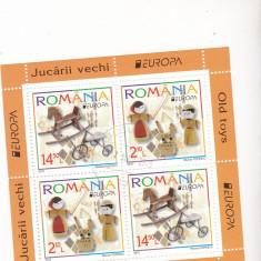 Coala st.romanesti EUROPA JUCARII VECHE UZATE - Timbre straine, Stampilat