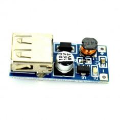 Modul DC-DC Boost cu Mufa USB Incarcator USB - Alimentator