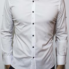 Camasa - camasa alba camasa slim fit camasa elegant camasa barbat cod 59 - Camasa barbati, Marime: S, M, XXL, Culoare: Din imagine, Maneca lunga