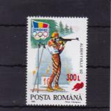 ROMANIA 2001, LP 1566, ALBERTVILLE 92 SUPRATIPAR SANIUTA MNH - Timbre Romania, Nestampilat