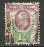 MAREA BRITANIE 1902, Stampilat