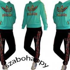 Trening Adidas dama. - Trening dama Adidas, Marime: XL, Culoare: Turcoaz, Bumbac