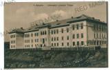 3487 - TURNU-SEVERIN, High School - old postcard - unused
