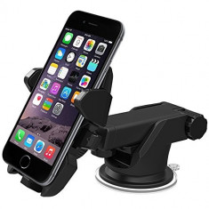 Suport auto universal Easy One Touch, negru