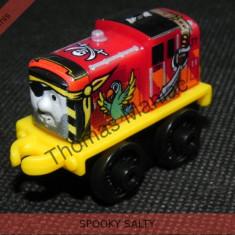 Fisher Price - Thomas and Friends Minis - trenulet jucarie SPOOKY SALTY, Metal, Unisex