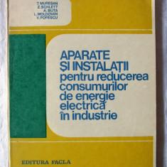 APARATE SI INSTALATII pt. reducerea consumurilor ENERGIE ELECTRICA in INDUSTRIE