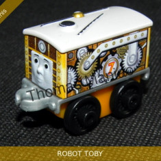 Fisher Price - Thomas and Friends Minis - trenulet jucarie ROBOT TOBY, Metal, Unisex