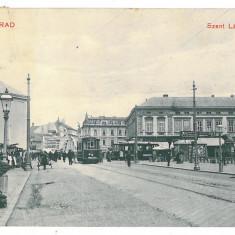 3461 - ORADEA, Market - old postcard - used - 1912 - Carte Postala Crisana 1904-1918, Circulata, Printata
