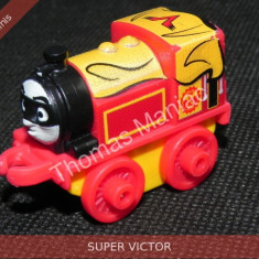 Fisher Price - Thomas and Friends Minis - trenulet jucarie SUPER VICTOR, Metal, Unisex