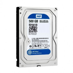 Hard disk laptop 500GB SATA 3Gb/sec WD5000AAKX - HDD laptop Western Digital, Rotatii: 7200