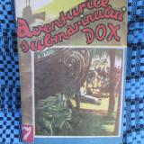 AVENTURILE SUBMARINULUI DOX nr. 7. PRINTRE VANATORII DE CAPETE (1992) - Carte de aventura