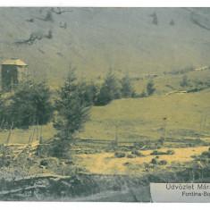 3479 - Maramures, BORSA - old postcard, CENSOR - used - 1915, Circulata, Printata