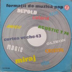 Formatii de muzica pop 2 (LP) - Muzica Rock Altele, VINIL