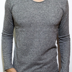 Bluza barbati bluza slim fit bluza online bluza gri Cod 68