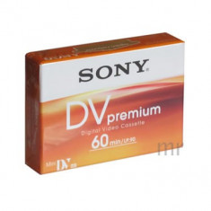 Caseta video miniDV SONY (DVM) 60min SP / 90min LP