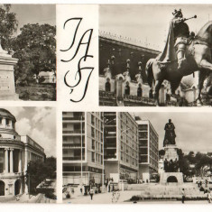 CPI (B7353) CARTE POSTALA - IASI - MOZAIC, 1967 - Carte Postala Moldova dupa 1918, Circulata, Fotografie