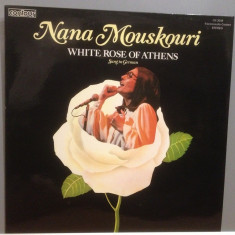 NANA MOUSKOURI - WHITE ROSE OF ATHENS (1967/PICKWICK/UK) - Vinil/Impecabil (NM), universal records