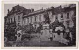 Cernauti carte postala cenzurata 1943 Monumentul Unirii, Circulata, Printata