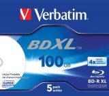 BD-R XL 100GB 4X WIDE WHITE INKJET PRINTABLE HARDCOAT SURFACE