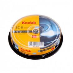 Blu-ray Kodak, printabil full surface, 25 GB, cake 10 discuri