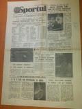 ziarul sportul 15 martie 1984-etapa a 23 a diviziei A la fotbal