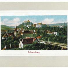 2176 - Mures, SIGHISOARA, Panorama - old postcard - unused - Carte Postala Transilvania 1904-1918, Necirculata, Printata