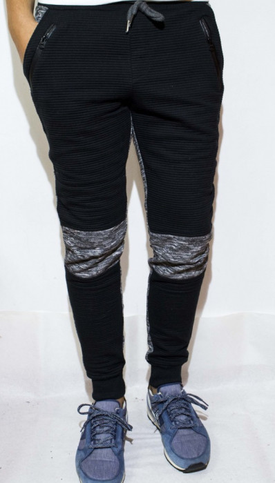 Pantaloni de trening barbati  - pantaloni conici pantaloni ieftini - cod 70