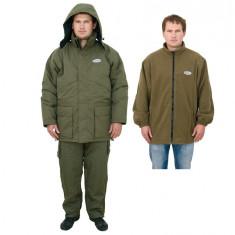 Costum Gros Matlasat Pescar Baracuda UP-01G Pentru Iarna - Imbracaminte Pescuit Baracuda, Marime: L, XL, XXL, XXXL