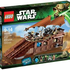LEGO STAR WARS - 75020 - JABBA'S SAIL BARGE, 10-14 ani