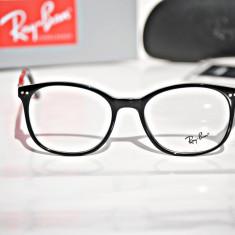 Rame de ochelari de vedere Ray Ban RB1945 G 2000 - Rama ochelari Ray Ban, Unisex, Negru, Rotunde, Rama intreaga, Designer