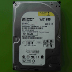 Hard Disk HDD 120GB Western Digital WD1200BB ATA IDE - BAD-uri, 100-199 GB, Rotatii: 4200, 2 MB