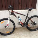Bicicleta Giant Revel O Disc 2012 aproape noua - Mountain Bike Giant, 26 inch, Numar viteze: 27, Aluminiu, Gri-Rosu